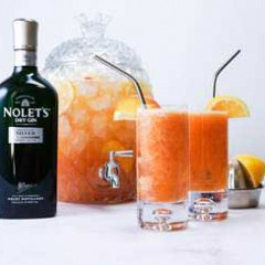Celebrate National Peach Month with Great Tasting Cocktails made with NOLET's Dry Gin!