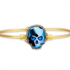 Celebrate Dia de Los Muertos with  Luca + Danni  Sugar Skull Bracelets + Rings!