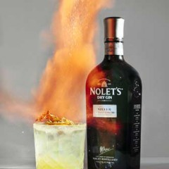 "Light Up Halloween with a ""Lit""Cocktail: ""Light My Fire with NOLET'S Gin!"
