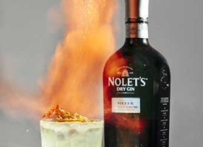 """Light Up Halloween with a """"Lit""""Cocktail: """"Light My Fire with NOLET'S Gin!"""