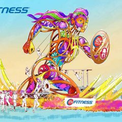 24 Hour Fitness'® Float for Tournament of Roses® Symbolizes the Heart, Soul, Sweat + Passion of Spartan Competitors + Everyday Athletes !