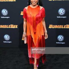 Angela Bassett Sparkles on the Bumblebee Red Carpet –with Csarite and Hearts on Fire Jewelry!