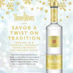 Stir Up a Little Drama – and Great Taste in Cocktails with 3 Olives EggNog Vodka!