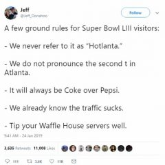 SUPER BOWL LIII –  FIRST WAVE OF SOCIAL MEDIA BRAND DATA Courtesy of Talkwalker!