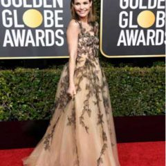 Secrets of the Red Carpet: How to Get Leslie Bibb's Gorgeous Skin and Fab Lashes! (Golden Globes!)