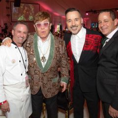 HOT NEWS! Chef Wayne Elias + Crumble Catering Dish for Sir Elton John's Aids Foundation/ Oscar Viewing Party- Raising $6.3+ Million!!