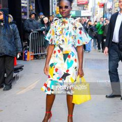 """Lupita Nyong'o Walks the Walk in Nine West Sandals while Promoting Her Movie,  """"US""""!"""