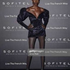 "Supermodel Anok Yai Dazzles at ""La Nuit"" by Sofitel Party During Paris Fashion Week!"