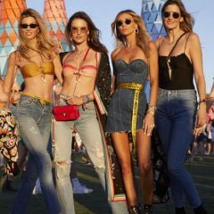 Celebrity Spotting at Coachella: SuperModel Alessandra Ambrosio + Friends! Check Out Alessandra's Outfit!