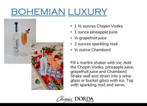 Easter Bliss: Sip Incredibly Luscious Cocktails from Chopin Vodka! + 1 GREAT Treat to Eat!