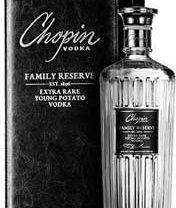 """Chopin Vodka  Launches a New """"Super-Premium"""" Spirit–FAMILY RESERVE Vodka!"""