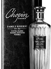 "Chopin Vodka  Launches a New ""Super-Premium"" Spirit–FAMILY RESERVE Vodka!"