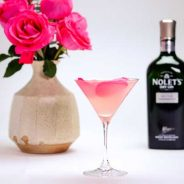 Celebrate Mother's Day with a GORGEOUS Cocktails: Nolet's Silver Rose Gimlet!