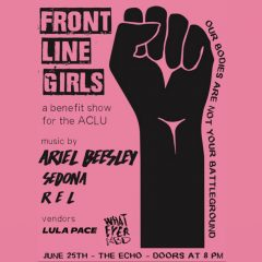Support PINK! Special Benefit Club Date:  featuring 3 Women Musicians!  6/25  8 PM at The ECHO (Los Angeles)