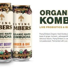 Looking for a Healthy Drink  that Offers MORE?  Check out Flying Embers Organic Hard Kombucha!