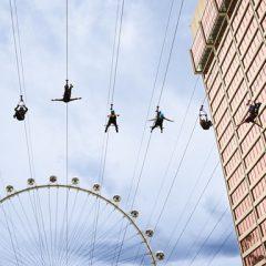 Heading to  Las Vegas? Make Sure to  Fly Linq Zipline Like Paula Abdul!