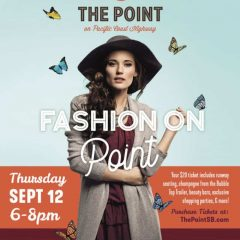 "Get a Head Start on Fall Trends at ""Fashion on Point"" at The Point, El Segundo 9/12!"