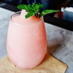 Celebrate the Weekend with a  Frosé Cocktail Made with  Forever Young Rosé !