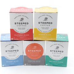 Steeped Coffee: the NEW Kid on the Block with GREAT Flavor and Ease of Use!