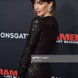 "Paz Vega Sparkles in Chopard Jewelry on the ""Rambo: Last Blood"" Premiere Red Carpet"