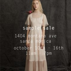 Santa Monica's  Morgane Le Fay's Sale Is Almost Here! Oct 10-16 with Discounts Starting at 75% + UP!