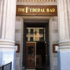 The FEDERAL (Long Beach) Presents a Fantastic Jack Daniels Whiskey Pairing Dinner! 6 PM, 10/24!