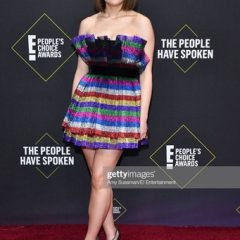 Actress Joey King Sparkles in Swarovski on the E! People's Choice Awards Red Carpet!