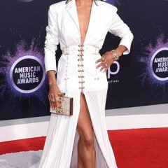 Misty Copeland Sparkles  on the American Music Awards Red Carpet!