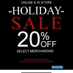 Get Your Holiday Shopping Done at RonRobinson.com + Stores… And SAVE 20% on Select Items!