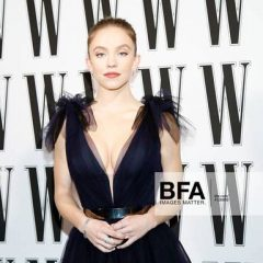 Sydney Sweeney Dazzles at the W Magazine Golden Globes Party in Lark and Berry Gems!