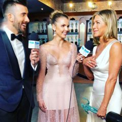 Alex Soldier Jewels Sparkle at the  2020 SAG Awards on  People TV's Host Andrea Boehlke!