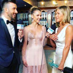 Alex Soldier Jewels Sparkle at the  2020 SAG Awards on  People TV's Host Andrea Boehlke!