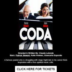 "Patrick Stewart in LA for a Screening of ""CODA"" +  Q+A on 2/1!!"