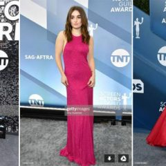 "The SAG Awards Red Carpet Speaks ""Valentine's Day"" to Many! Who Wore the Red + Pink Dresses!"