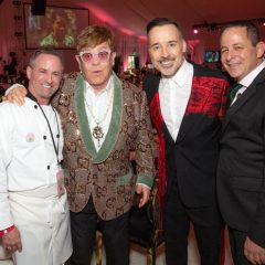 Oscar's Red Carpet Events: Elton John's Party  Serves Up an Amazing Dinner by  Chef Elias!