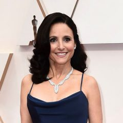 Celebrity makeup artist Karen Kawahara prepped Julia Louis-Dreyfus's skin with Pause Well-Aging Products!