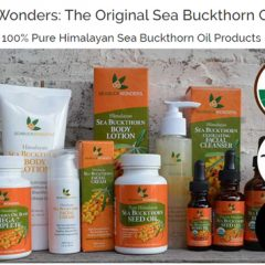 Going for the Natural:  Seabuck Wonders Skincare and Body Products Will Work WONDERS!