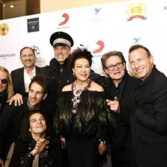 Sue Wong's Academy Gala Delivers Oscar Night Asian Chic and Celebrities!