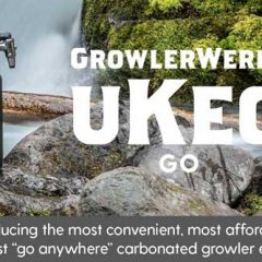 "GrowlerWerks Launches a ""Go Anywhere: (CARBONATED) Growler: uKeg GO!"