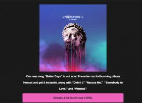 "OneRepublic Drops  a New Single: ""Better Days""! Help OneRepublic Make the Video!"