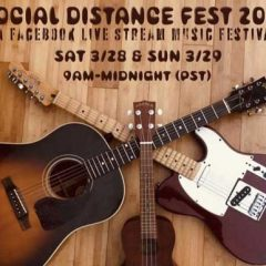 Singer/Songwriter Mike Vitale Shares Upcoming Live Stream Concert Schedule on Facebook! 3-28/29