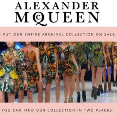 Hot, HAUTE Sale from CLDPR: Alexander McQueen Fashions on Ebay + RealReal.com!!