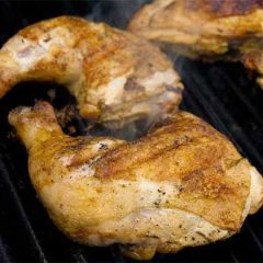 "Celebrate Memorial Day with a ""Step Up"" for Tasty BBQ Chicken with Recipes from  AmazingRibs.com!"