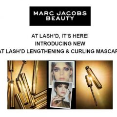 "Marc Jacobs Launches Haute New Product: ""At LASH'D""- a Lengthening + Curling Mascara!"