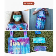 "Try this DIY Tie-Dye Project from Love Is Project– and ""Give Back"" to Kids in Need!"
