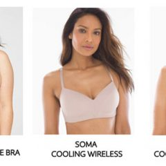 Beat the Summer Heat  + Humidity with Cooling Bras!