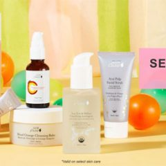 Don't Miss 100% Pure's Semi-Annual Sale: Up to 70% Off Clean Skincare!  Hurry Up + Buy!