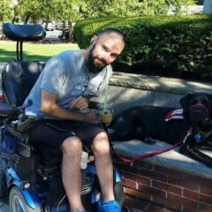 Service Dog, Oliver & Quadriplegic Owner Share Unbreakable Friendship & Partnership!