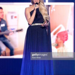 Carrie Underwood Dazzles in Tadashi Shoji while Performing at  54th Annual Country Music Awards!!